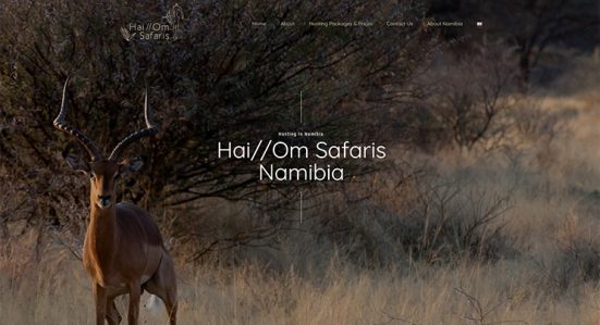 Website-Design-And-Development-for-Hai-Om-Safaris-Namibia
